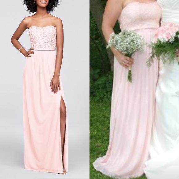 334c8bd8a73 David s Bridal Dresses   Skirts - David s Bridal Bridesmaid Dress F18095  Petal